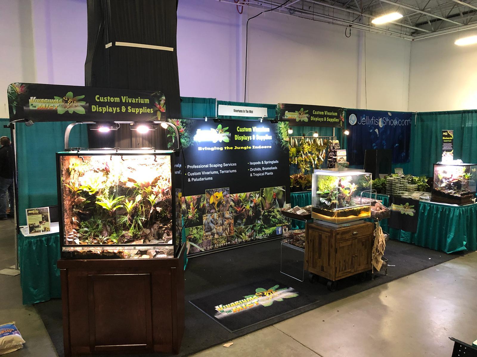 Custom Vivarium and Terrarium Displays and Supplies